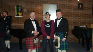 Two in Kilts and Poet winner
