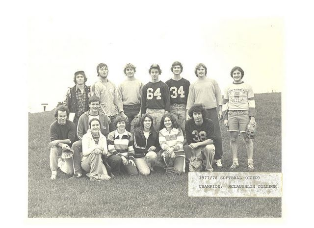 co_ed_softball___mclaughlin_college___champions___1977_78
