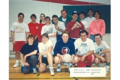 co_ed_volleyball___mclaughlin_college___champions_runner_up___1990_91