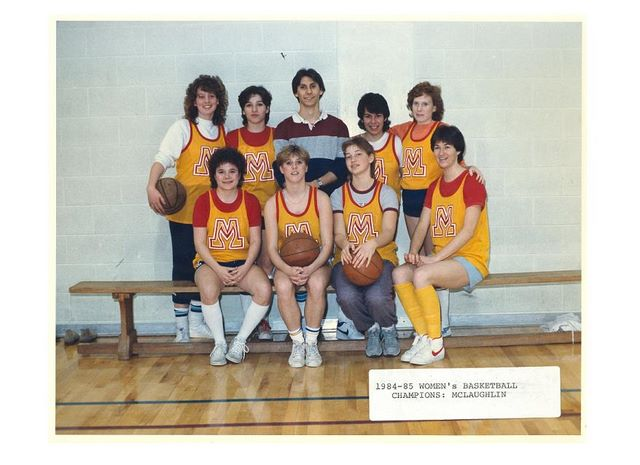 women_s_basketball___mclaughlin_college___champions___1984_85
